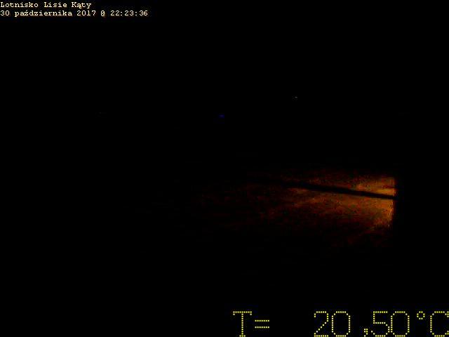 Obraz z hangaru szybowcowego